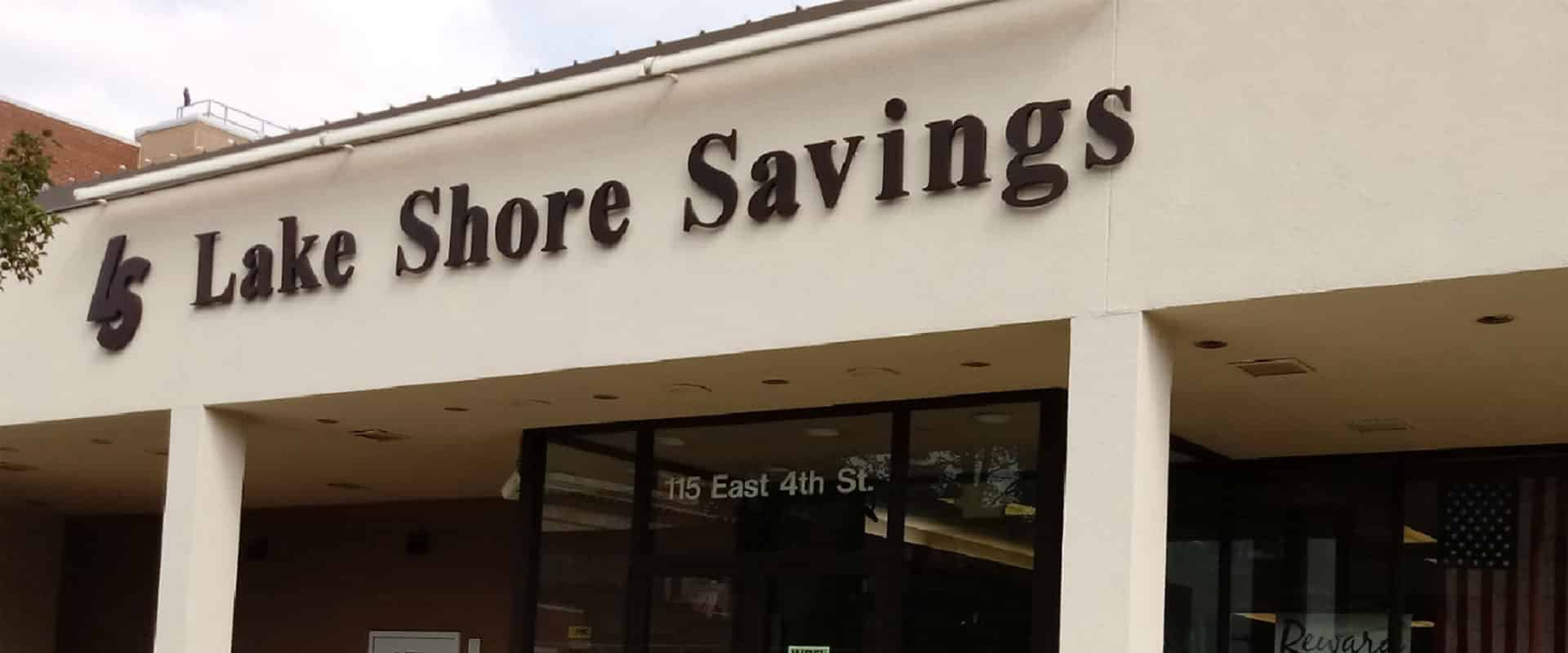 Jamestown Lake Shore Savings Bank Location